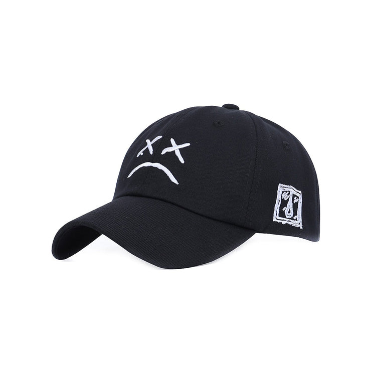 Sad Face Cap Streetwear Brand Techwear Combat Tactical YUGEN THEORY