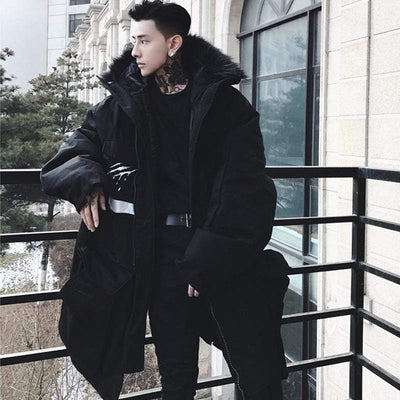 Savagery Winter Parka Streetwear Brand Techwear Combat Tactical YUGEN THEORY