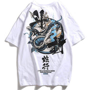 Sea Serpent Tee Streetwear Brand Techwear Combat Tactical YUGEN THEORY