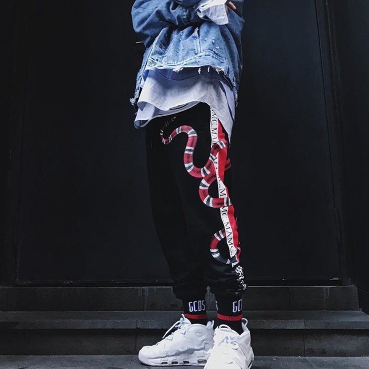 Slither Joggers Streetwear Brand Techwear Combat Tactical YUGEN THEORY