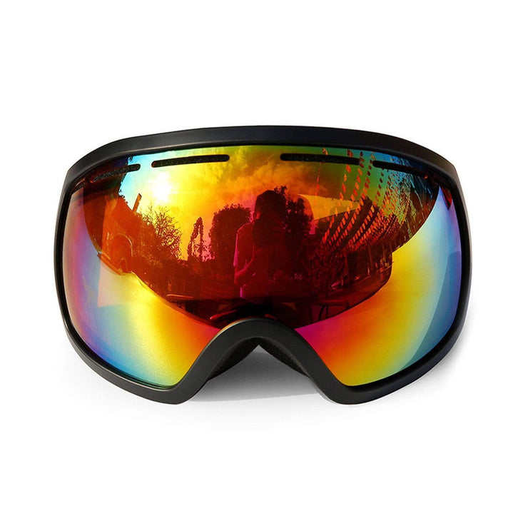 Spherical Double Layer Ski Goggles Streetwear Brand Techwear Combat Tactical YUGEN THEORY