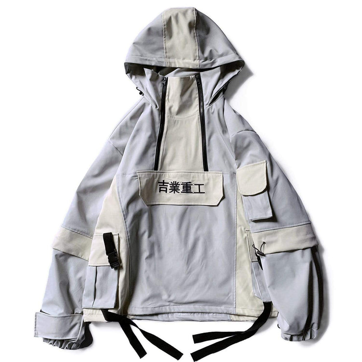 Splicing Jacket Streetwear Brand Techwear Combat Tactical YUGEN THEORY