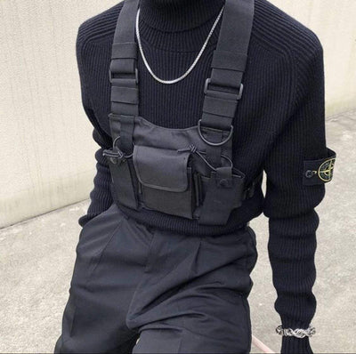 Tactical Chest Bag Streetwear Brand Techwear Combat Tactical YUGEN THEORY