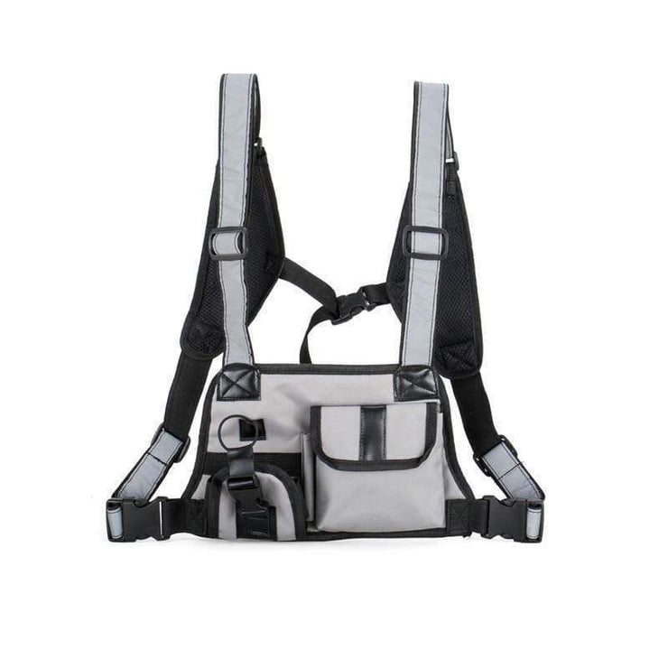 """Vest S"" Backpack Streetwear Brand Techwear Combat Tactical YUGEN THEORY"