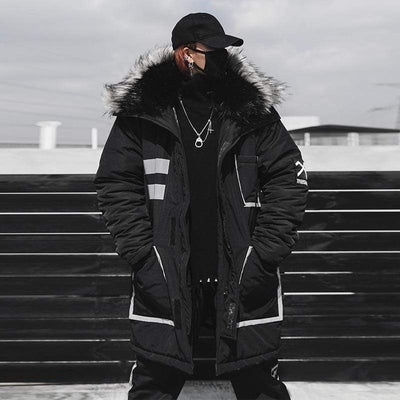 Visions Winter Parka Streetwear Brand Techwear Combat Tactical YUGEN THEORY