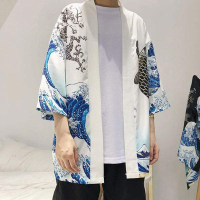 Waves Kimono Streetwear Brand Techwear Combat Tactical YUGEN THEORY