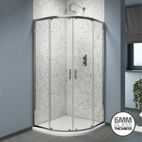 Take a virtual look around the 6mm Quadrant Shower Enclosure.