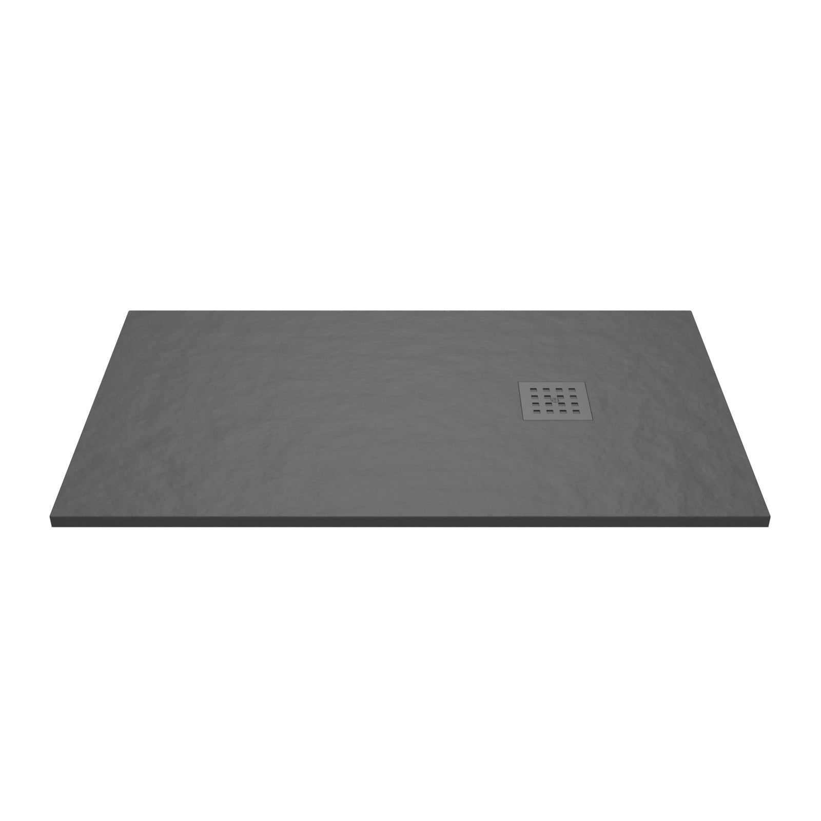 Give your shower a sleek and natural look with this Graphite Rectangle Low Profile Shower Tray.