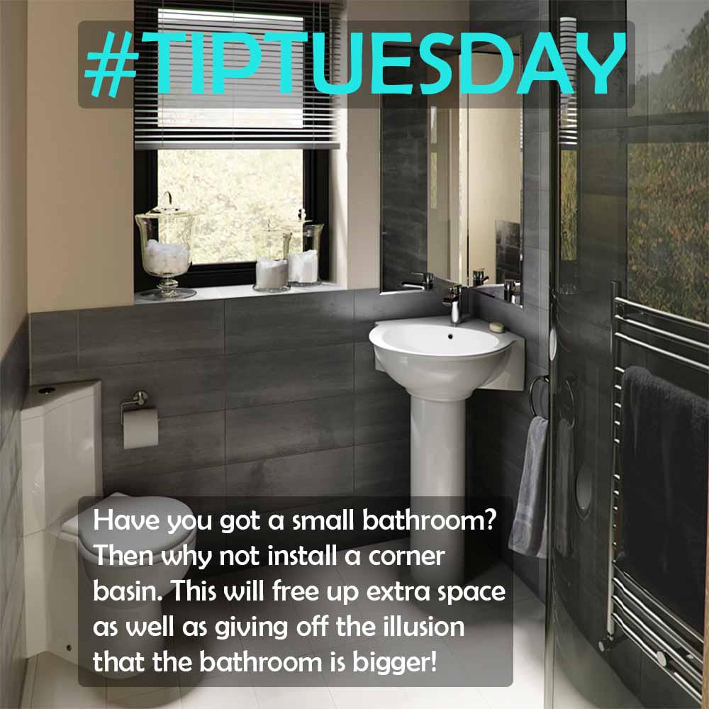 Increase space in your bathroom with this helping tip!