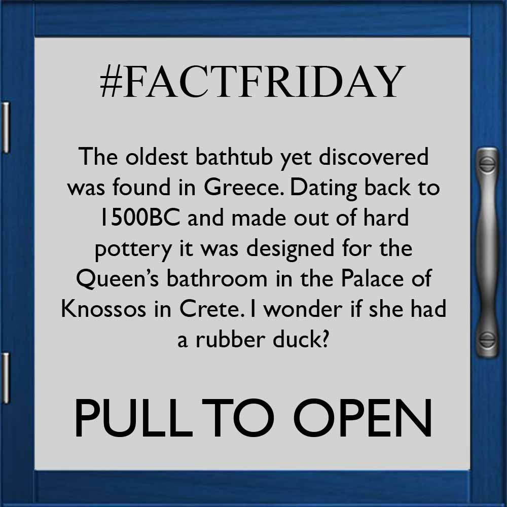 Travel back over 3000 years in this weeks #FACTFRIDAY!