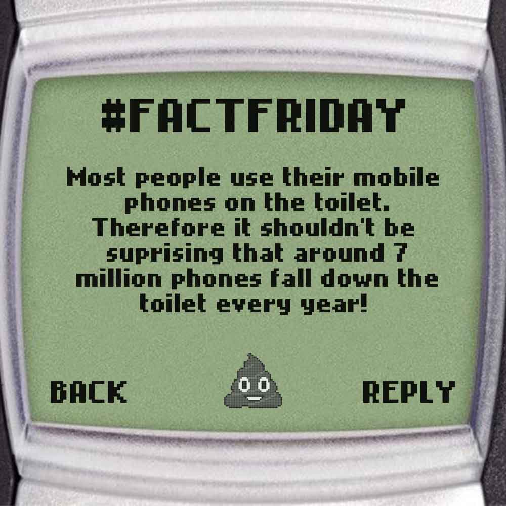 #FACTFRIDAY - Don't let go of your Phone!