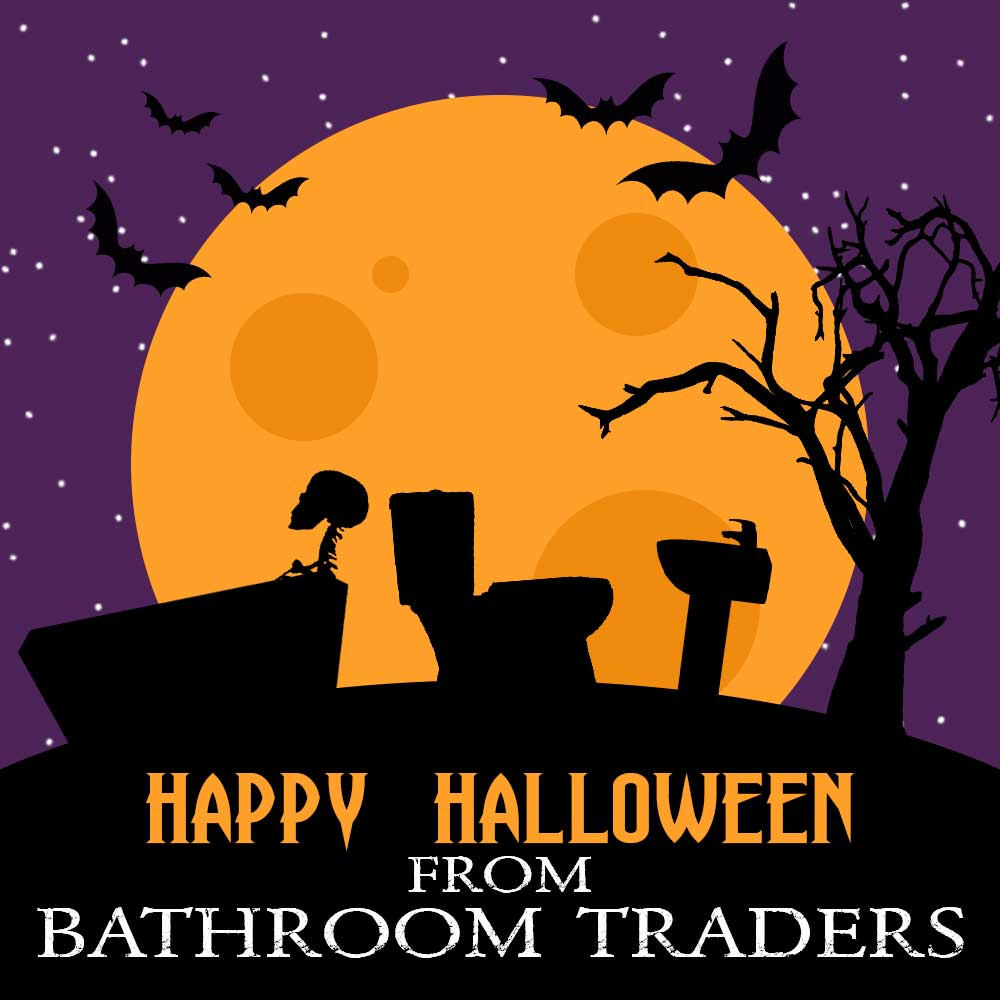 Happy Halloween from everyone at Bathroom Traders!
