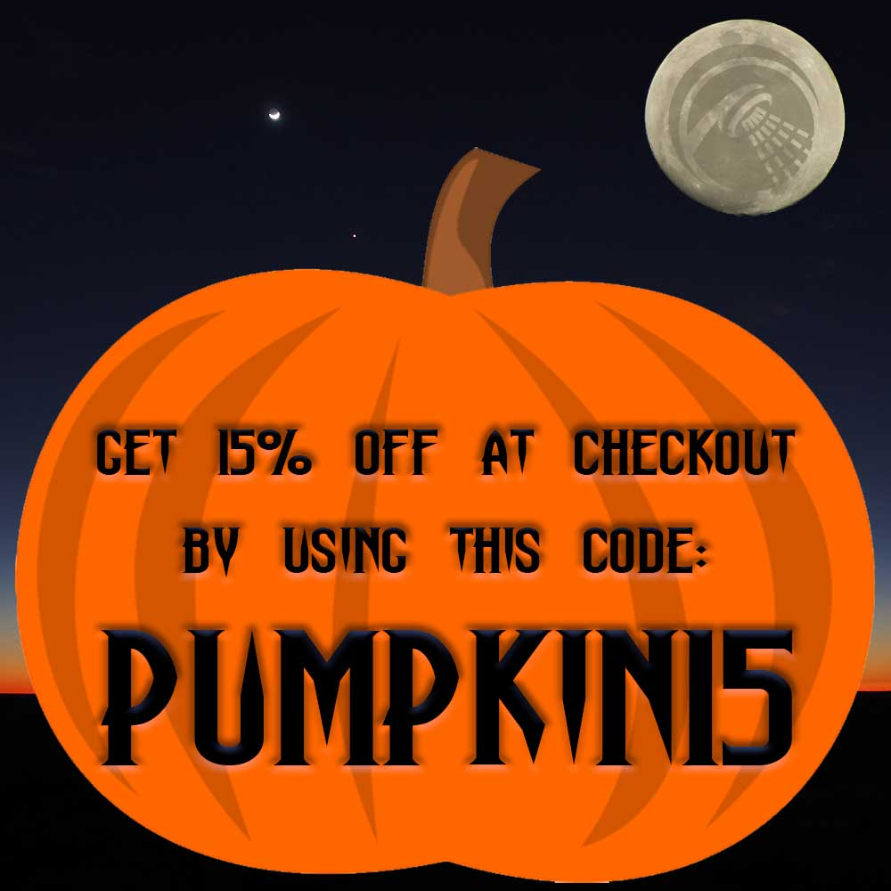 TRICK OR TREAT DISCOUNT CODE!!!