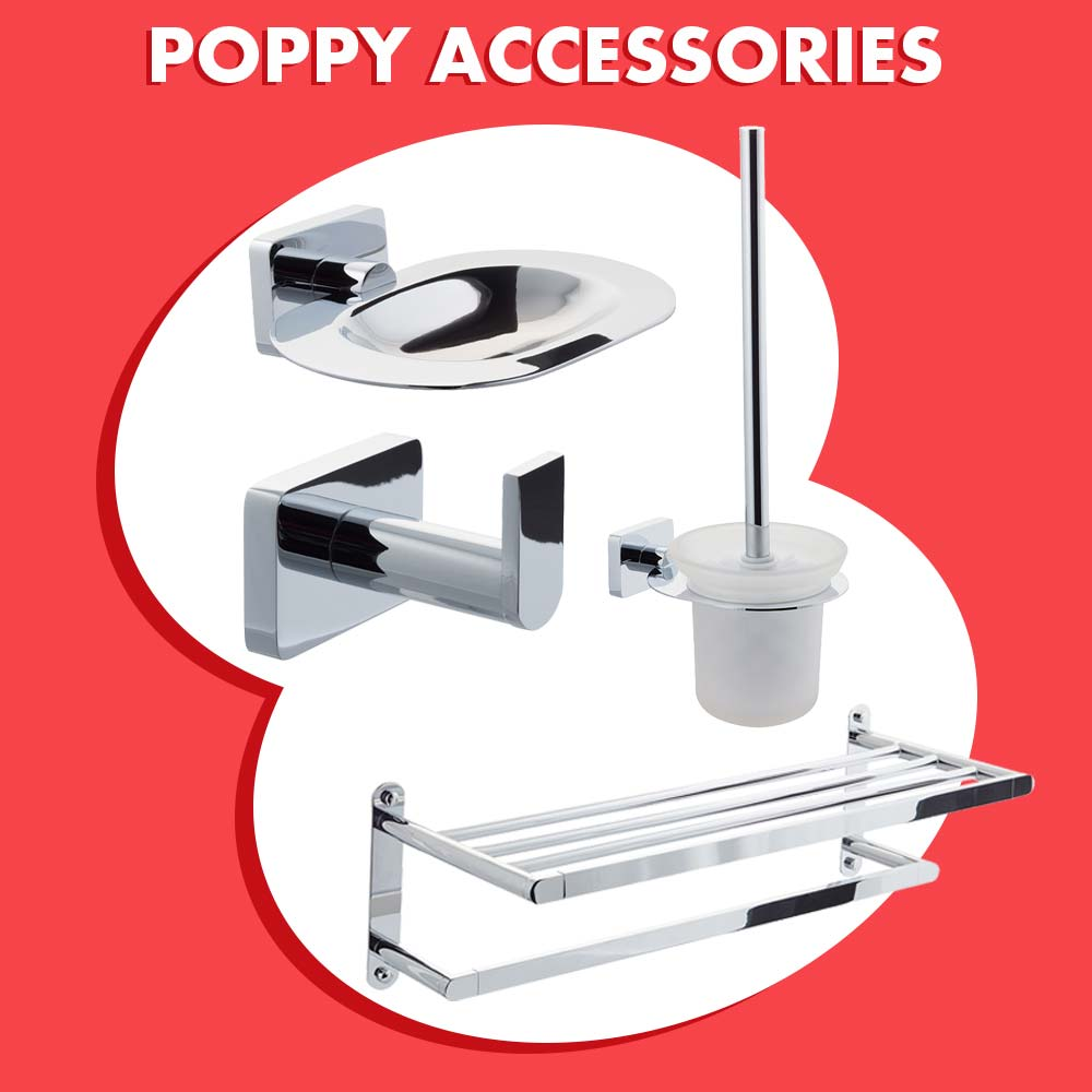 Our stunning Poppy Accessory Range