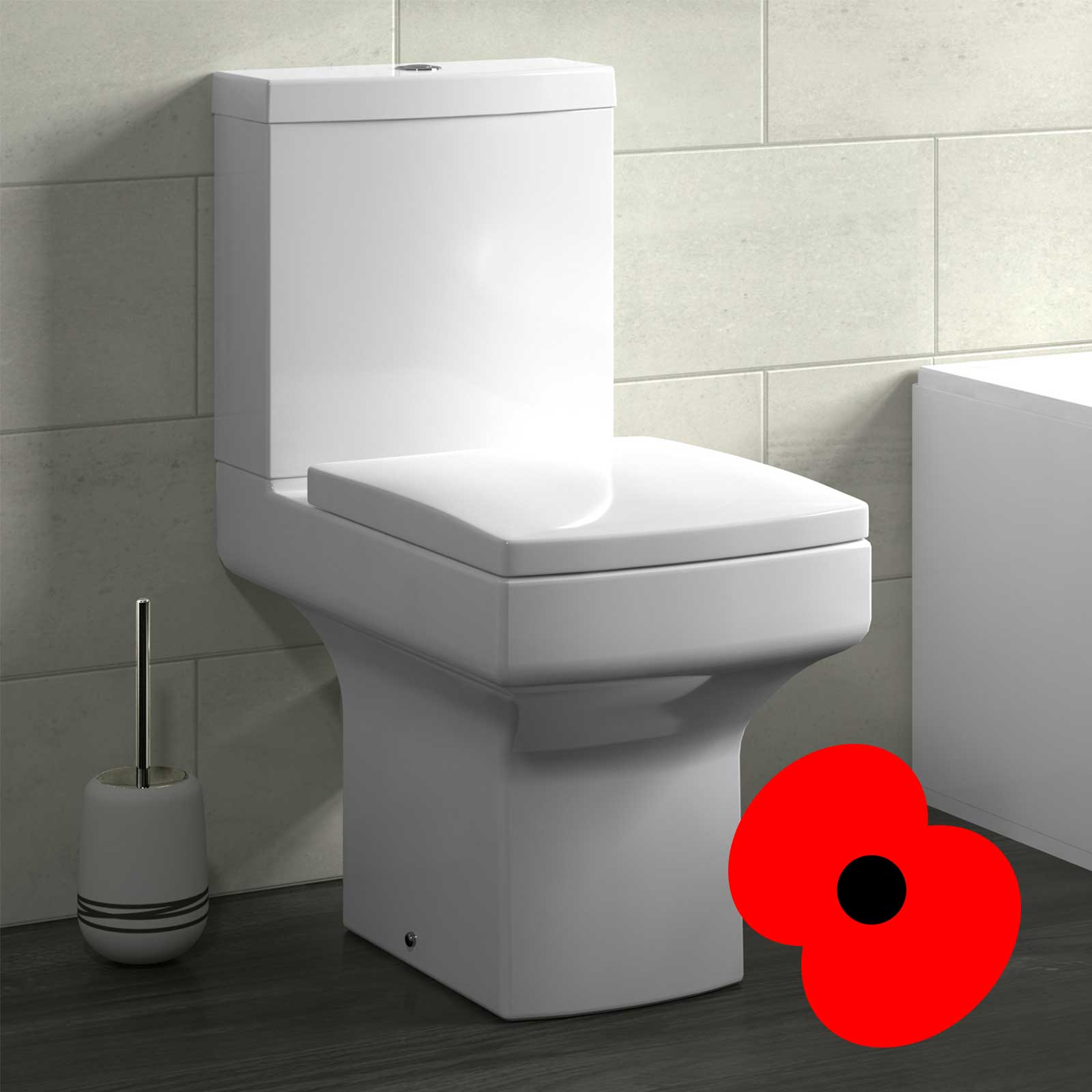 Introducing the Maisy Lou Modern Close Coupled Toilet & Soft Close Toilet Seat