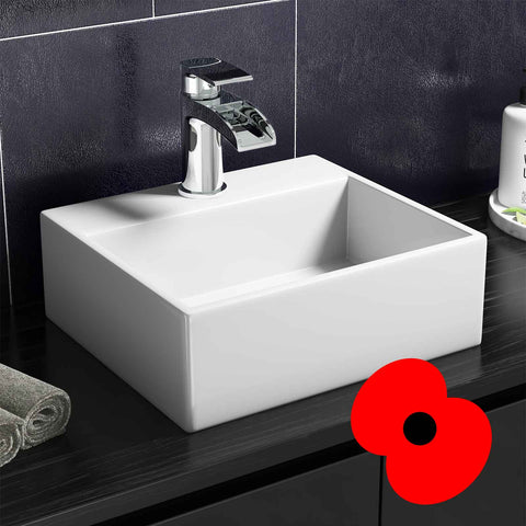 Add a stunning Counter Top Basin to your bathroom!