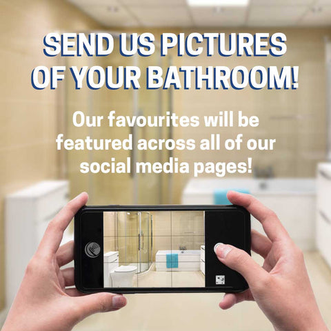 We want to see YOUR bathroom!