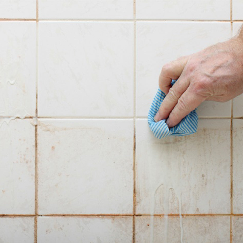 How-to Clean Grout (Homemade Grout Cleaner)