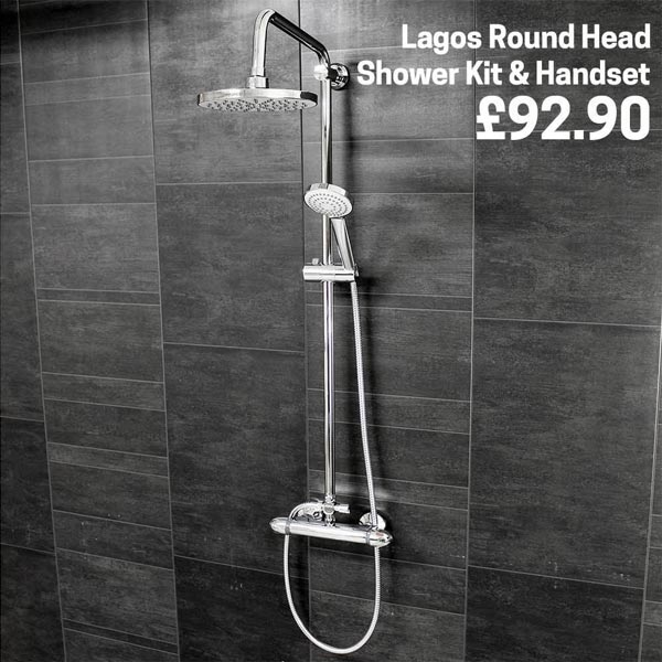 Introducing the Lagos Thermostatic Shower