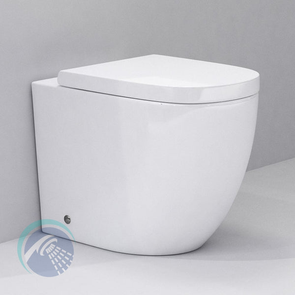 Opera Back To Wall Toilet Pan - Bathroom Traders