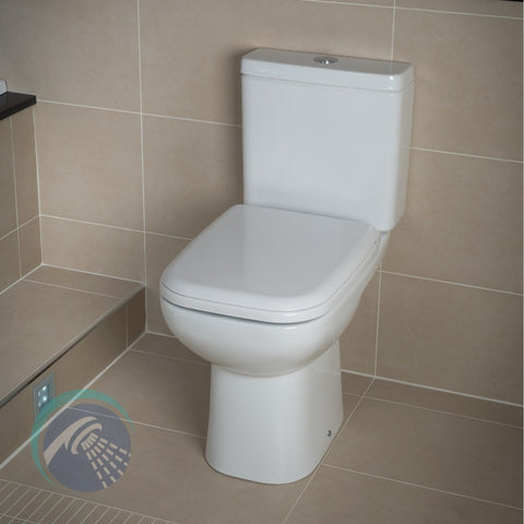 Origin 62 Full Access WC Pack with Soft Close Seat - Bathroom Traders