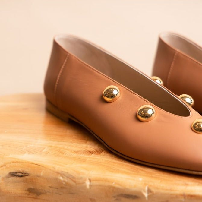 Scala Studded - Caramel