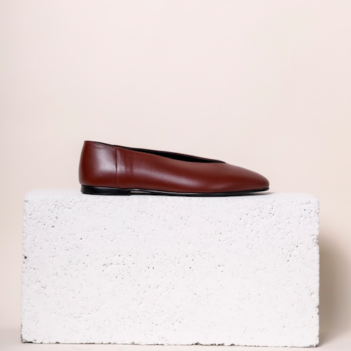 Scala - Maroon Leather