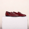 Lodi Maroon Leather