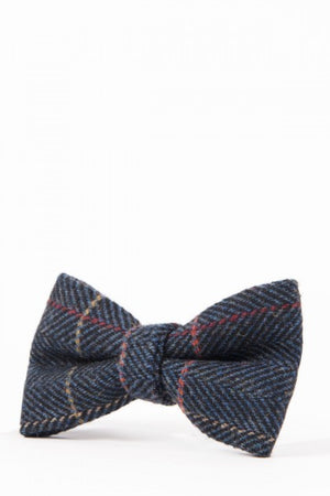 Eton Navy Wedding Bow Tie - Wedding Suit Direct