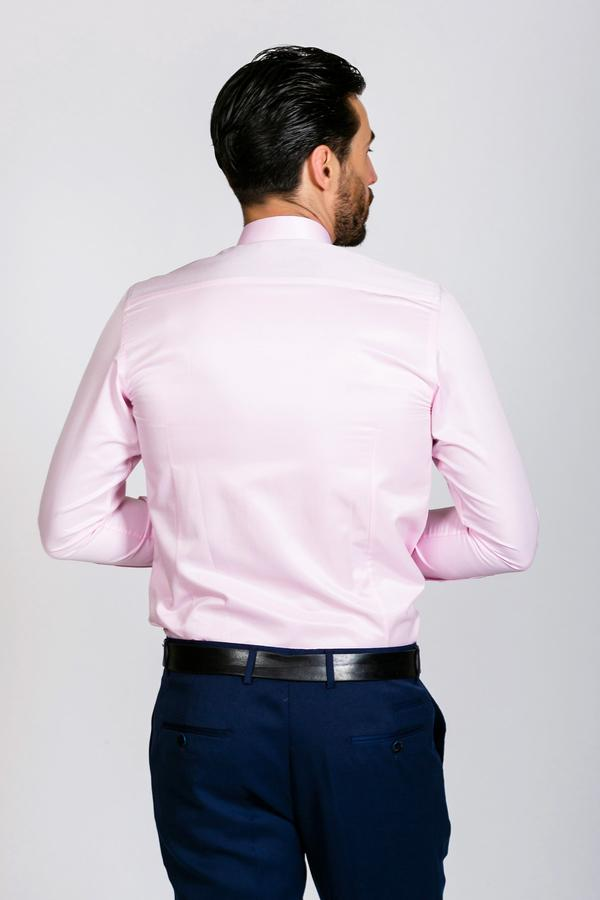 ALFIE - Pink Long Sleeve Shirt | Marc Darcy - Wedding Suit Direct