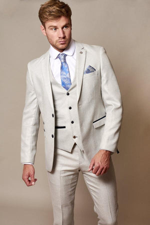 Ronald Stone Three Piece Wedding Suit - Wedding Suit Direct