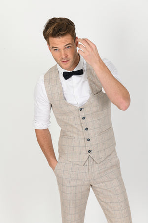 Harding Wedding Waistcoat - Wedding Suit Direct
