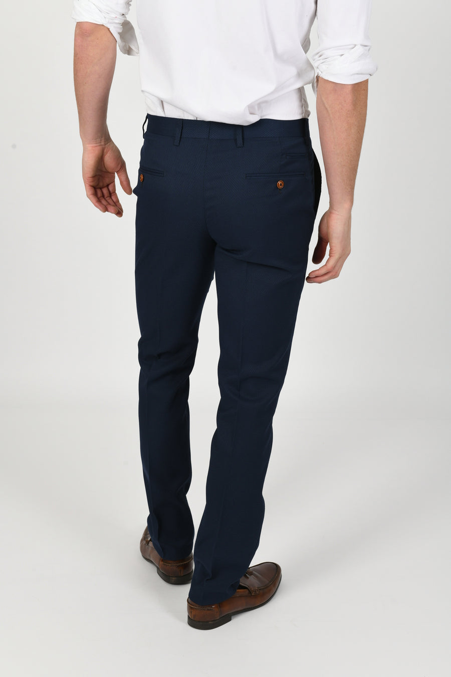 Max Royal Blue Wedding Trousers - Wedding Suit Direct