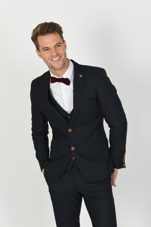 Max Navy Wedding Suit - Wedding Suit Direct