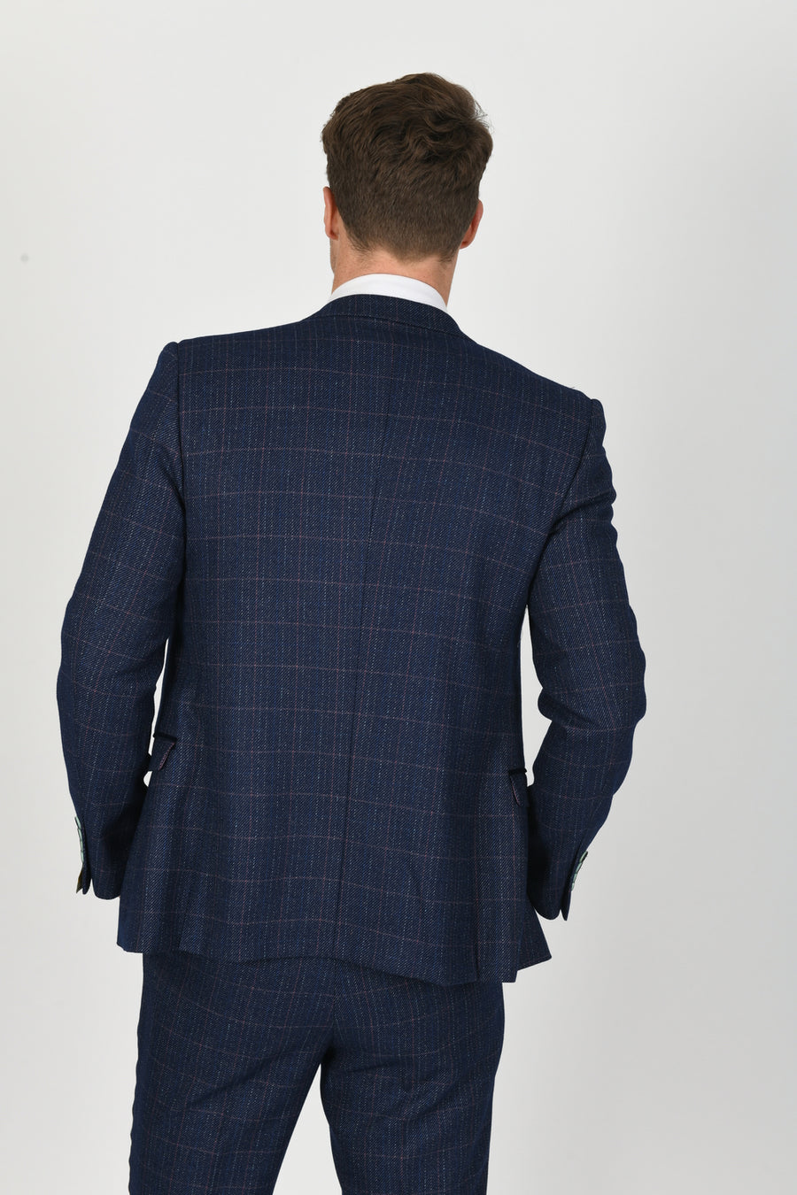 Harry Blue Wedding Jacket - Wedding Suit Direct
