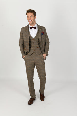 Ted Tan Wedding Suit - Wedding Suit Direct
