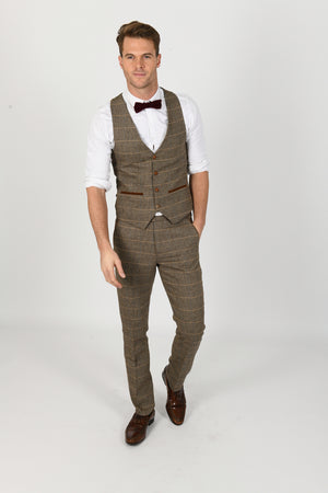 Ted Wedding Waistcoat - Wedding Suit Direct