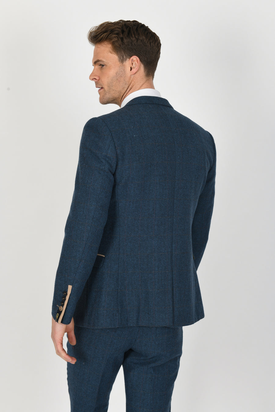 Dion Blue Wedding Jacket - Wedding Suit Direct