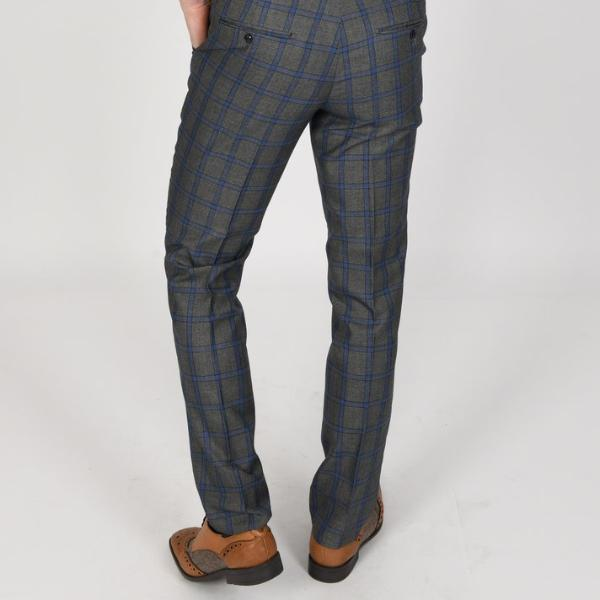 Roman Grey Wedding Trousers - Wedding Suit Direct