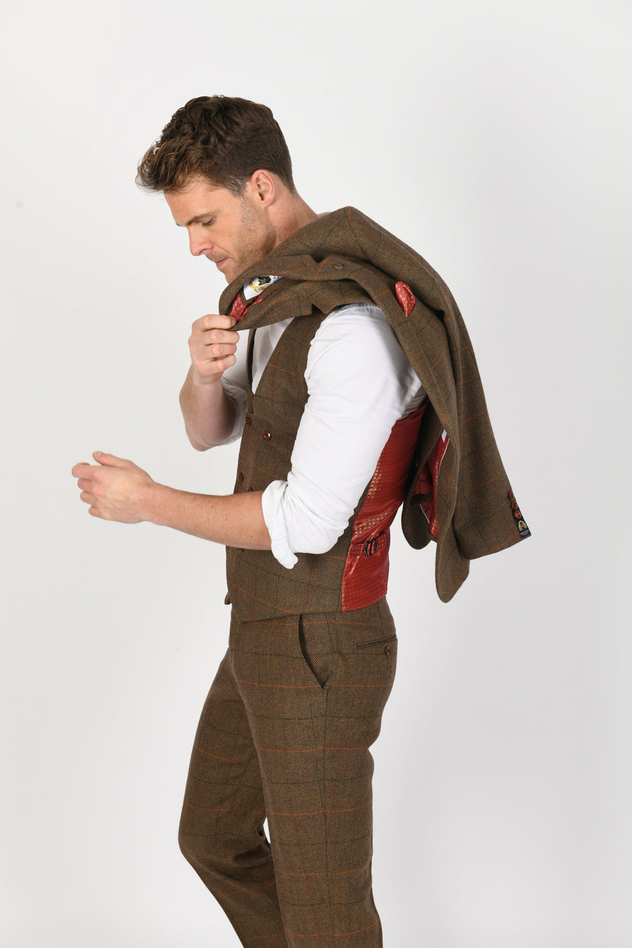 Nelson Wedding Waistcoat - Wedding Suit Direct