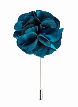 Turquoise Lapel Pin - Wedding Suit Direct