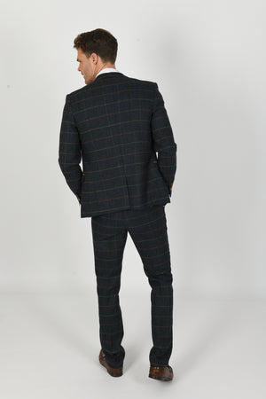 Eton Navy Wedding Suit - Wedding Suit Direct
