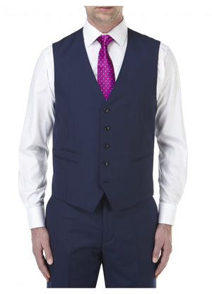 Joss Navy Wedding Waistcoat - Wedding Suit Direct