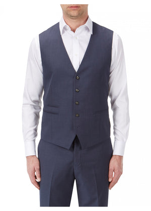 Joss Indigo Wedding Waistcoat - Wedding Suit Direct
