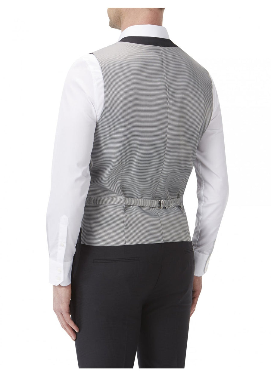 Newman Black Dinner Waistcoat - Wedding Suit Direct