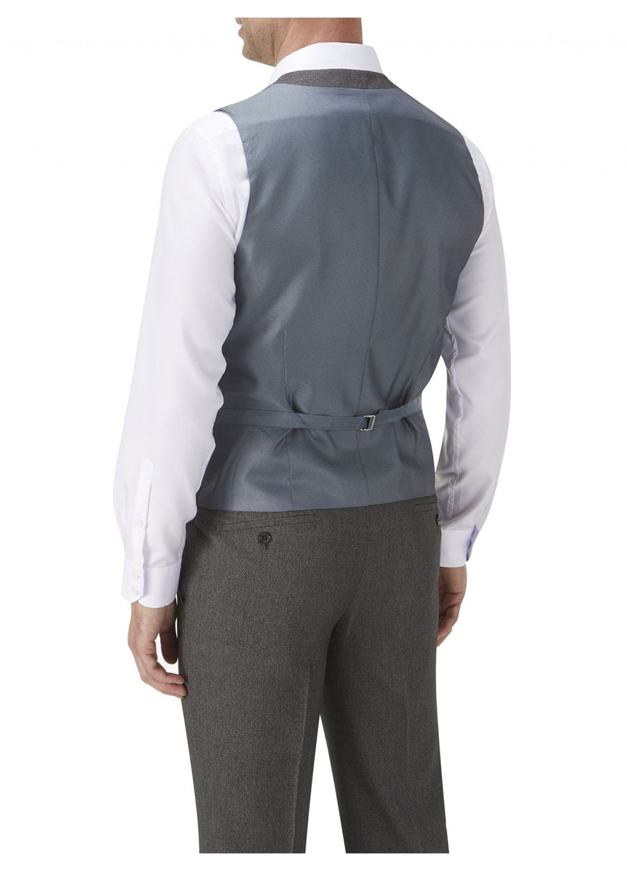Harcourt Grey Wedding Waistcoat - Wedding Suit Direct