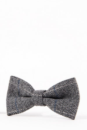 Scott Grey Wedding Bow Tie - Wedding Suit Direct