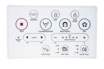 Blooming Bidet R1570 plus Remote with Auto-Open Seat