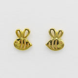 *LIMITED EDITION* Gold Save The Bees Stud Earrings