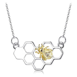 *LIMITED EDITION* Save The Bees Hive Necklace